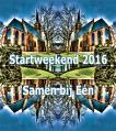 Startweekend 16 t/m 18 september